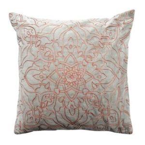 Velour Cushion Rosegold Mint Pastel