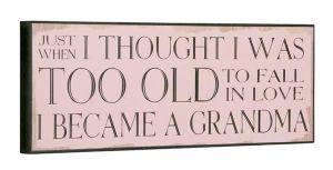 Sign I Became A Grandma