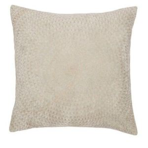 Velour Cushion With Rings Mint Pastel