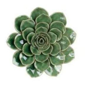 Deco Camell Ortelain Aquamarine Green