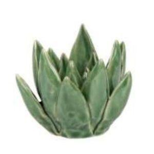 Deco Flower Ortelain Aquamarine Green