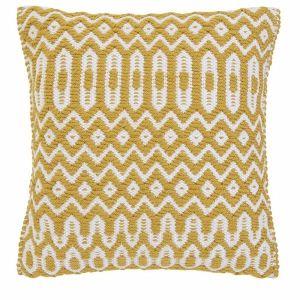 Halsey Cushion 45x45cm Mustard