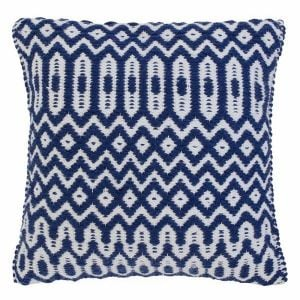 Halsey Cushion 45x45cm Blue