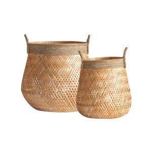 Mobi Bamboo Set of 2 Baskets