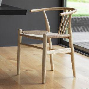 Wishbone-Whitley Chair Natural