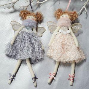 Hanging Angel - Grey