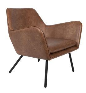 Bon Lounge Chair - Brown
