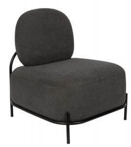 Polly Lounge Chair - Grey