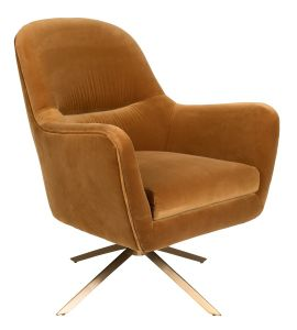 Robusto Lounge Chair - Whiskey FR