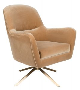 Robusto Lounge Chair - Caramel FR