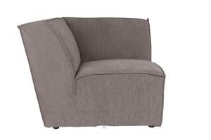 James Sofa Cover Rib - Grey
