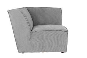 James Sofa Cover Rib - Cool Grey