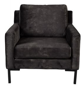 Houda 1-Seater Sofa - Anthracite