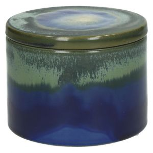 Agate Box Blue Ceramic