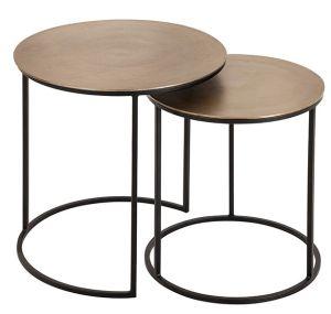 Felia Gold Nest of Tables