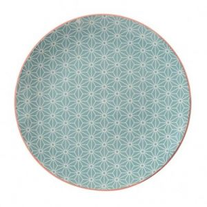 Plate with Japanese Stars Design