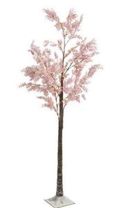 Pre Lit Pink tree 210cm
