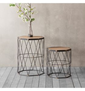 Marshal Side Table S/2