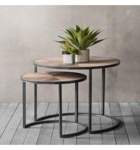 Douglas Coffee Table Nest of 2