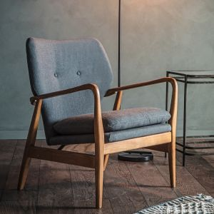 Jensen Armchair Grey