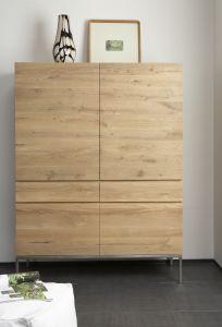 Oak Ligna Storage Cupboard 4/2