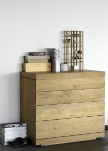 Oak Burger Chest of Drawers 4