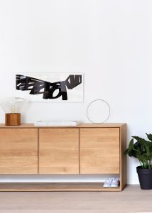 Oak Nordic Sideboard 3DR