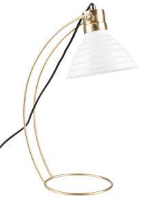 Curly Desk Lamp - White