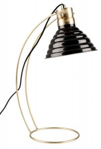 Curly Desk Lamp - Black