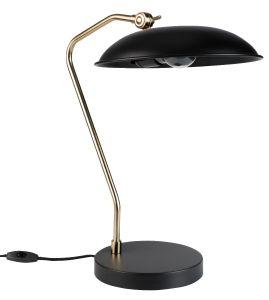 Liam Desk Lamp - Black