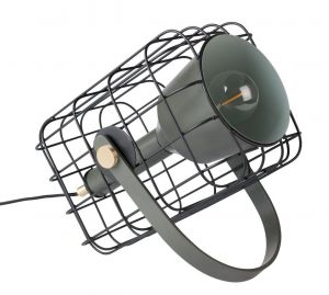 Cage Table Lamp - Black