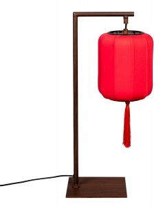 Suoni Table Lamp - Red