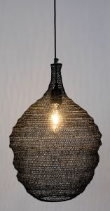 Lena Pendant Lamp - M Black