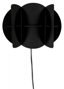 Corridor Wall Lamp - Black