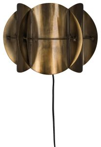 Corridor Wall Lamp - Antique Brass