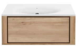 Qualitime Solid Surface Top - Integrated Washbasins
