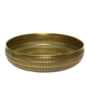 Metal tray gold