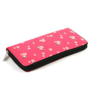Purse – Pink Flowers