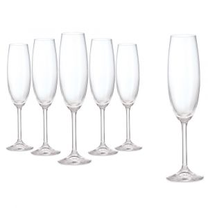 Connoisseur Set of 6 Champagne Flute 220ml