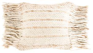 Fringe Pillow - Natural