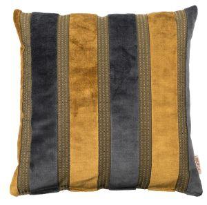Scott Pillow Yellow/Grey