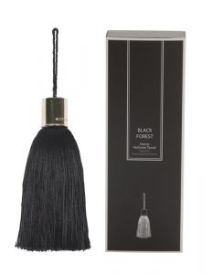 Scented Tassel Black/Gold Black Forest Scent