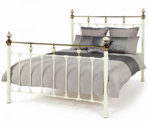 Abigail Bed - Ivory