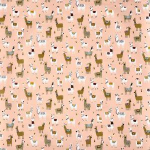 Alpaca Oilcloth Bon Bon