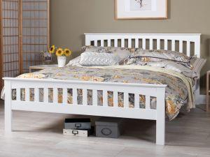 Amelia White Bed