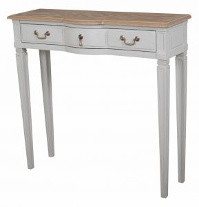 Annabelle Console Table Wood Top