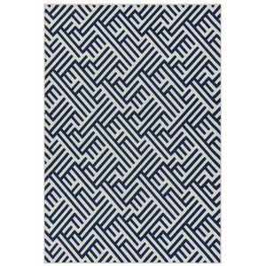 Antibes 160x230cm AN04 Blue/White Linear