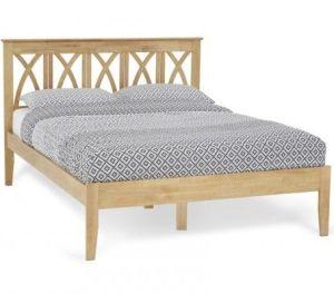 Autumn Honey Oak Bed