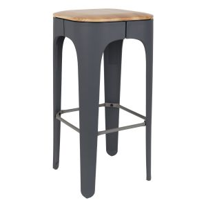 Barstool Up-High Dark Grey