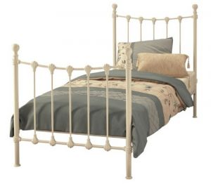 "Marseilles Bed Ivory - 3' 0"" Single"